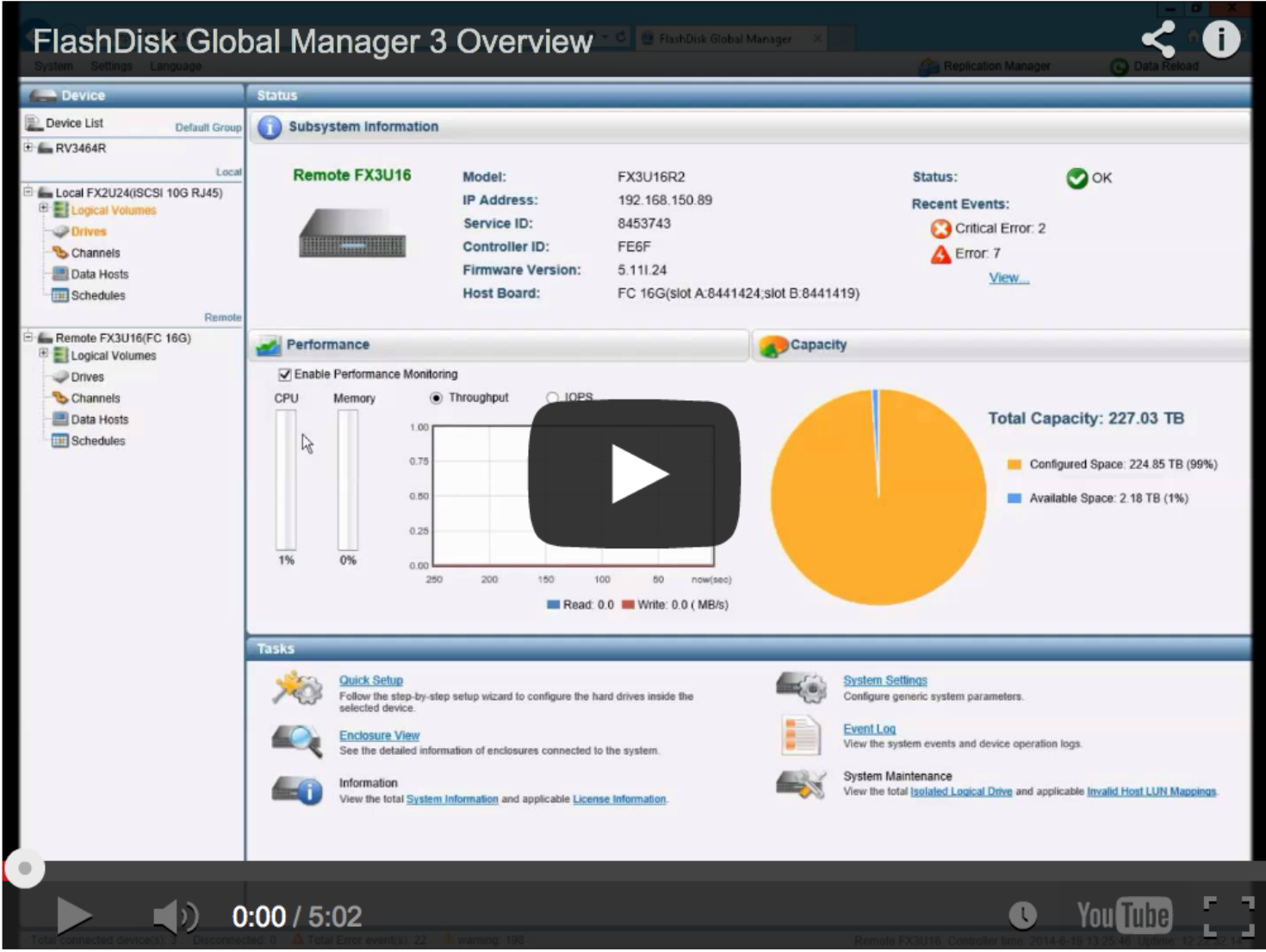 Play FlashDisk Global Manager 3 Overview Video