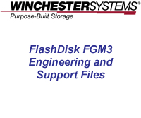 How to video showing the location and utility of FlashDisk FGM3 Engineering and Support Files.