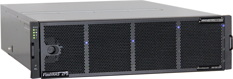 FlashNAS ZFS 3400 Front Angle